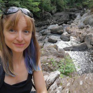 Welsh Fairy Glen Selfie
